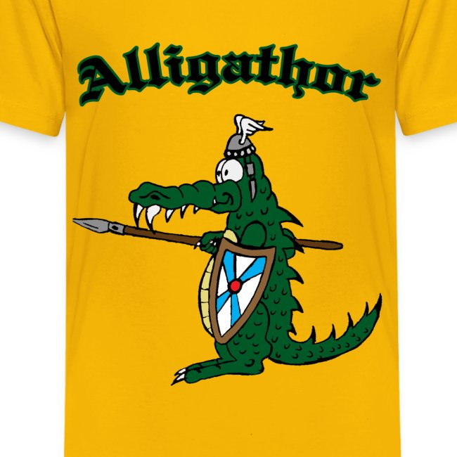 "Kinder T-Shirt ""Alligathor"""