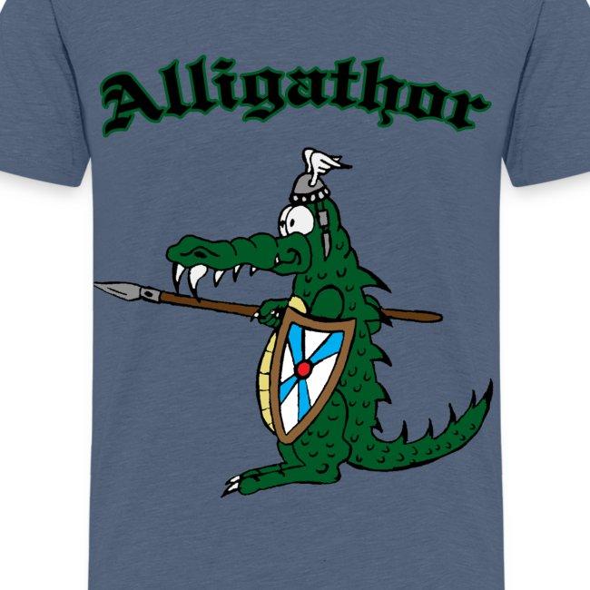 """Kinder T-Shirt """"Alligathor"""""""