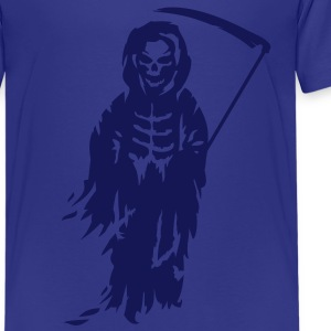 A Grim Reaper - Death with a scythe Kids' Shirts - Teenage Premium T-Shirt