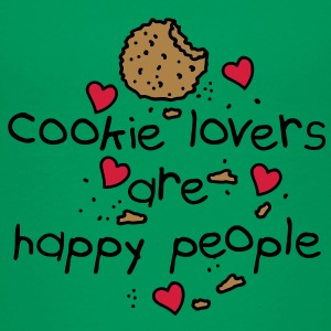 cookies lovers are happy people Kinder T-Shirts - Teenager Premium T-Shirt