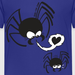 Dangerous Spider Love Kids' Shirts - Teenage Premium T-Shirt