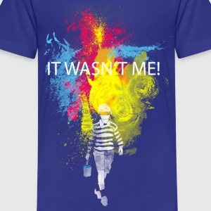 it wasn't me! Tee shirts Enfants - T-shirt Premium Ado
