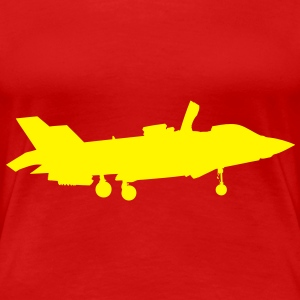 Joint Strike Fighter F-35 Landing T-Shirts - Women's Premium T-Shirt