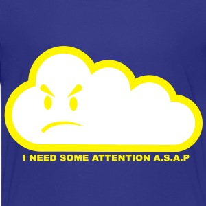 I need some attention a.s.a.p. Barneskjorter - Premium T-skjorte for tenåringer