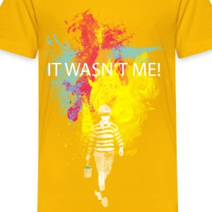 it wasn't me! Kinder shirts - Teenager Premium T-shirt