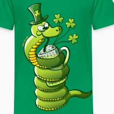 Saint Patrick's Day Snake Kids' Shirts