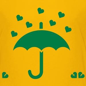 It's raining hearts solo Kinder T-Shirts - Kinder Premium T-Shirt
