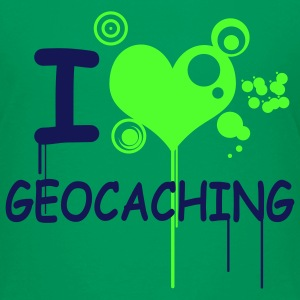 I love geocaching - 2colors - Teenager Premium T-shirt