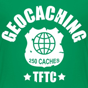 Geocaching Award 250 - 1color  - Teenager Premium T-shirt
