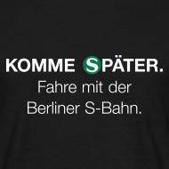 Motiv ~ Berliner S-Bahn-Shirt (Men)
