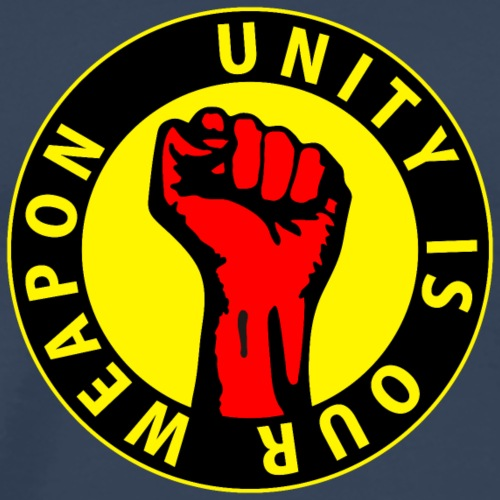 Digital - unity is our weapon - against capitalism working class war revolution