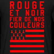 Motif ~ Tee Shirt Rouge et Noir