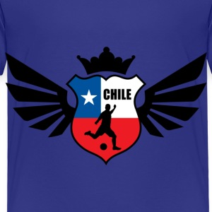 Chile soccer emblem flag Children's T-shirt - Kids' Premium T-Shirt