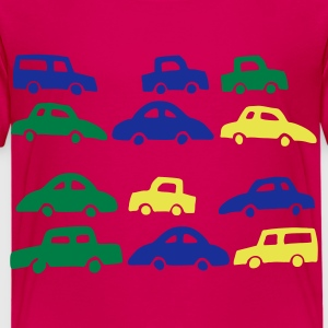 Ruby red cars Kids' Shirts - Kids' Premium T-Shirt