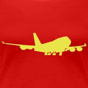 Boeing 747 Jumbo Airliner for Ladies - Women's Premium T-Shirt