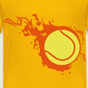 balle tennis flamme fireball302 Tee shirts Enfants - T-shirt Premium Enfant
