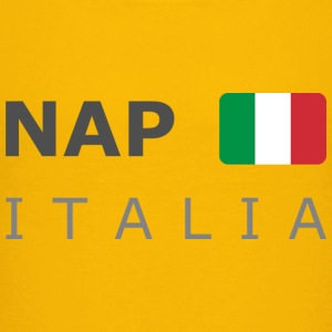 Teenager T-Shirt NAP ITALIA dark-lettered  - T-shirt Premium Ado