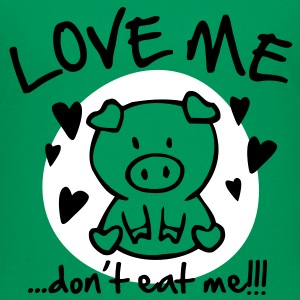 Love me, don't eat me Kids' Shirts - Teenage Premium T-Shirt