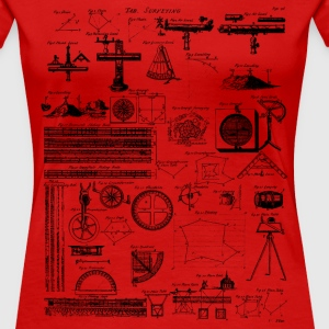 Table of Surveying T-Shirts - Women's Premium T-Shirt