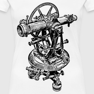 Old Theodolite - Women's Premium T-Shirt