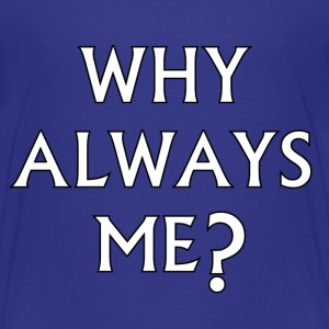 Kids - Why Always Me? - Mario Balotelli - Teenage Premium T-Shirt