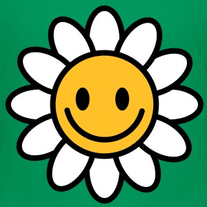 Margerite | Blume | Flower | Smilie Kinder T-Shirts - Premium T-skjorte for barn