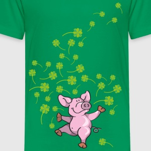 Little pig in good luck Kids' Shirts - Kids' Premium T-Shirt