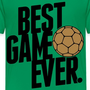 handball - best game ever Kinder T-Shirts - Teenager Premium T-Shirt