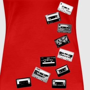 old Tapes T-Shirts - Frauen Premium T-Shirt