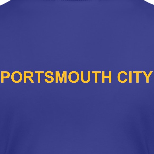 WOMEN'S - Deluxe Portsmouth City Team Polo Shirt.