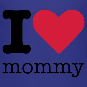 I Love Mommy Børne T-shirts - Teenager premium T-shirt