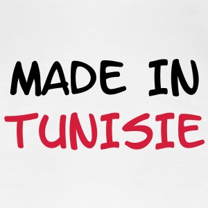 Made in Tunisie Tee shirts - T-shirt Premium Femme