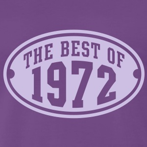THE BEST OF 1972 - Birthday Anniversaire T-Shirt LF - T-shirt Premium Homme