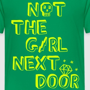 Not the girl next door Camisetas niños - Camiseta premium adolescente