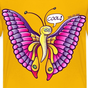 Coolorful Butterfly Kids' Shirts - Kids' Premium T-Shirt