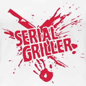 SERIAL GRILLER - barbecue Tee shirts - T-shirt Premium Femme
