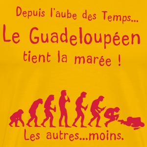 guadeloupeen maree aube alcool temps Tee shirts - T-shirt Premium Homme