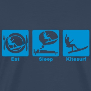 kitesurf eat sleep play  Tee shirts - T-shirt Premium Homme