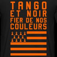 Motif ~ Tee Shirt Tango et Noir