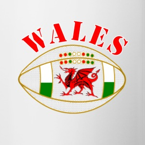 Wales dragon rugby ball - Mug