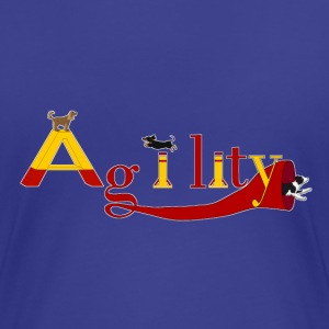Agility dogs Tee shirts - T-shirt Premium Femme