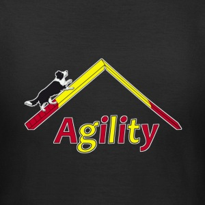 Agility Border Collie T-shirts - Dame-T-shirt