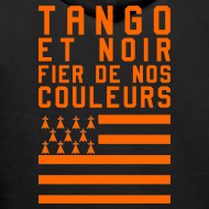 Motif ~ Sweat à capuche Tango et Noir