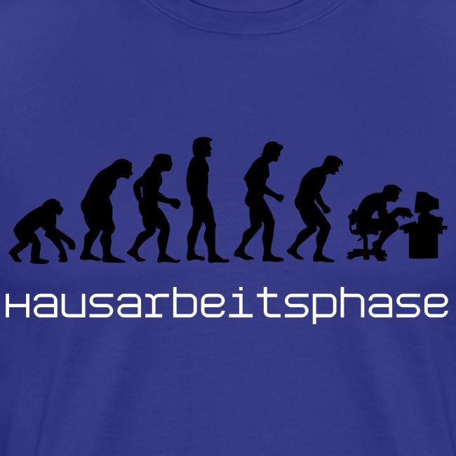 Hausarbeitsphase T-Shirt