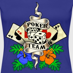poker team design 1 Tee shirts - T-shirt Premium Femme