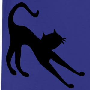 cat silhouet stretch by patjila Kinder shirts - Teenager Premium T-shirt