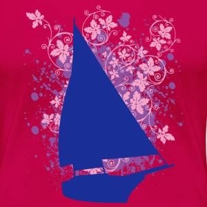 Sailboat T-shirt - Frauen Premium T-Shirt