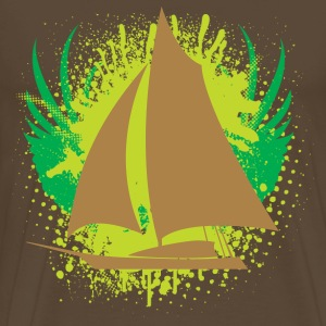 Sailboat T-shirt - Men's Premium T-Shirt