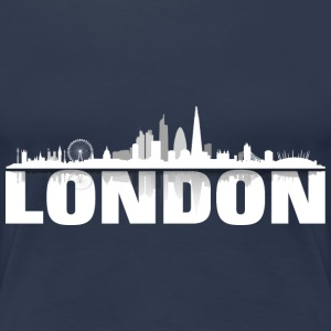 London white - Frauen Premium T-Shirt
