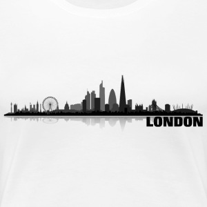 London grey - Frauen Premium T-Shirt